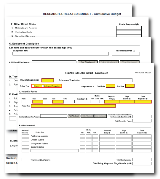 G       PHS     Research Plan Form    SF